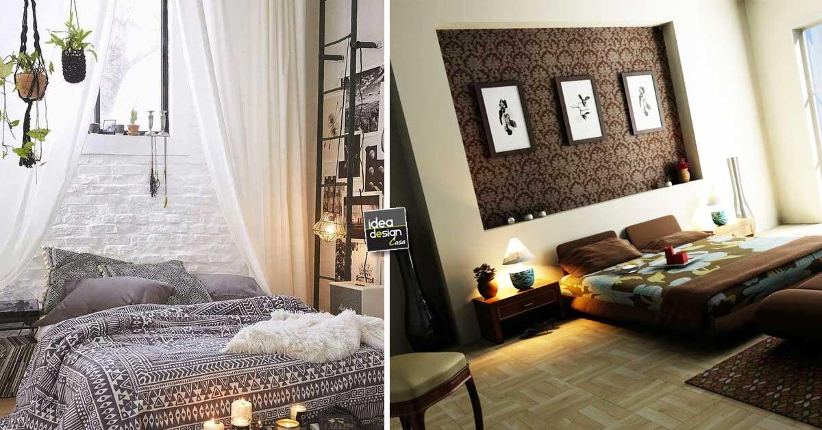 Decorare la parete dietro al letto Ecco 20 idee creative