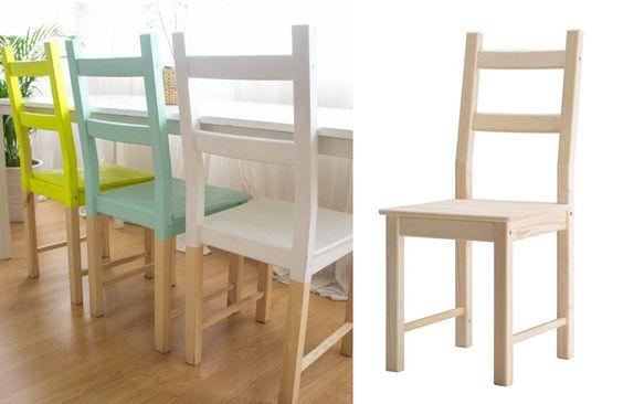 Sedie Ikea 20 Idee Per Personalizzare Una Sedia Ikea