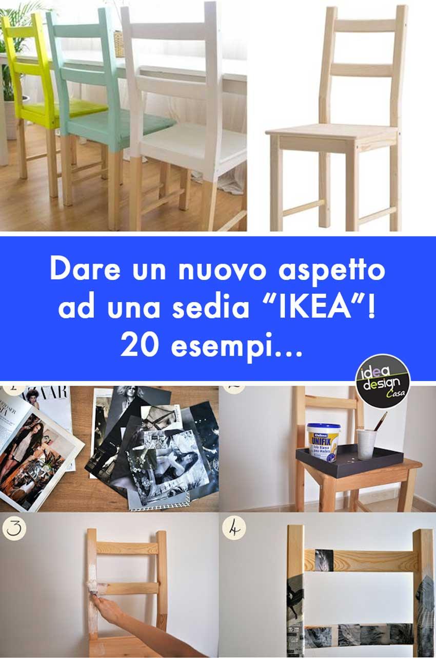 Scopri subito migliaia di annunci di privati e aziende e trova quello che cerchi su subito.it Sedie Ikea 20 Idee Per Personalizzare Una Sedia Ikea