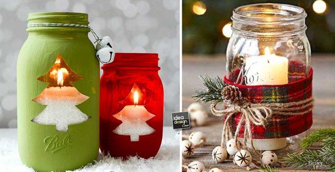 Decorazioni invernali fai da te molto carine per abbellire