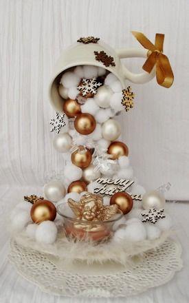 Decorazioni natalizie in un tazza 15 idee originali per
