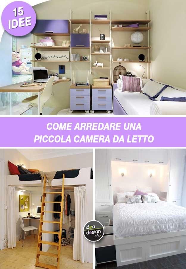 camera da letto piccola 10 idee per sfruttare bene lo spazio grazia. Arredare Una Piccola Camera Da Letto Ecco 15 Idee Salvaspazio
