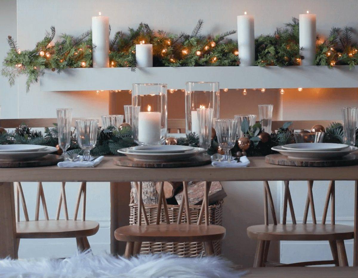 Come apparecchiare la tavola a Natale 15 idee da cui