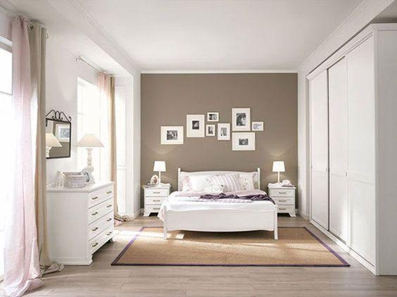 Camera da letto tortora elegante e accogliente Ecco 16 idee per ispirarvi