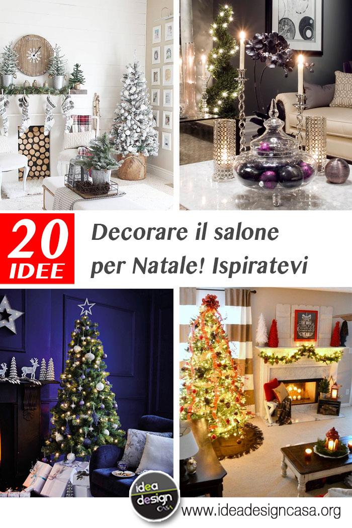 Decorare il soggiorno per Natale La risposta in 20 bellissime foto
