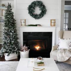 Beach Theme Decorating Ideas For Living Rooms Clock Room Decorare Il Soggiorno Per Natale! La Risposta In 20 ...
