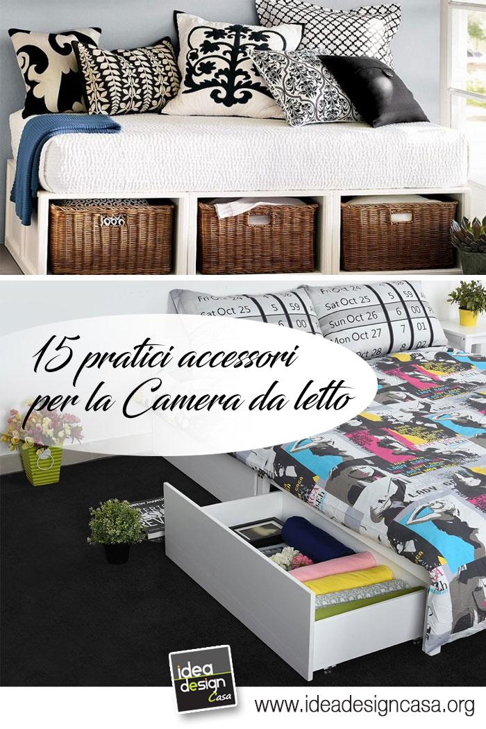 Tenere in ordine la camera da letto Ecco 15 accessori