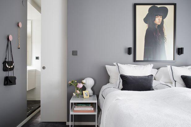 Camera da letto grigia e bianca ecco 15 idee a cui ispirarsi