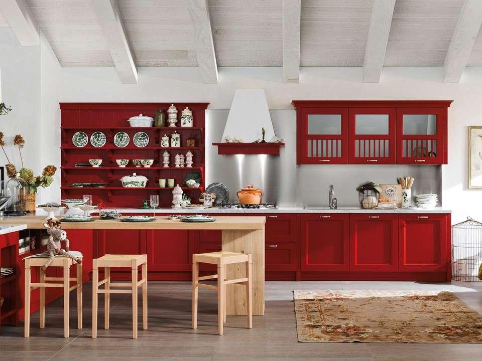 Cucina rossa e grigia 15 idee accattivanti che vi