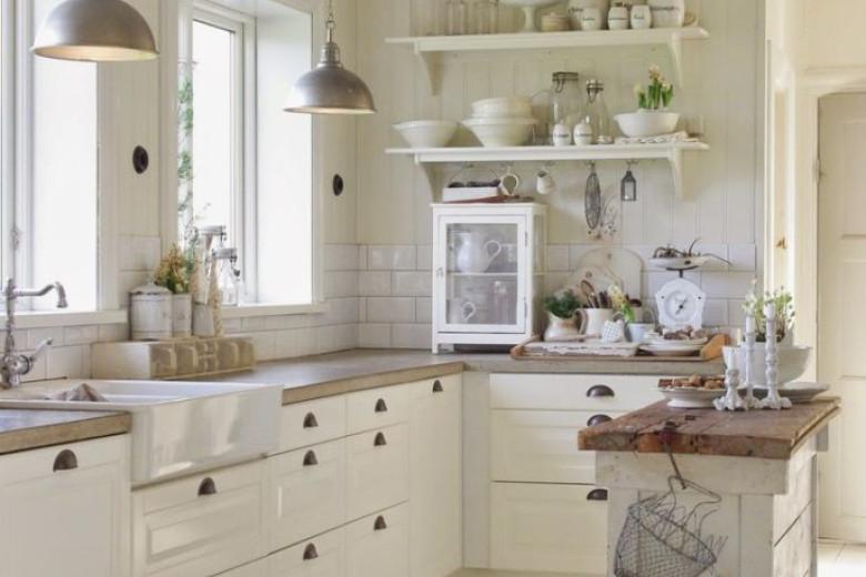 Cucina Shabby Chic Ecco 15 idee per arredarla con gusto