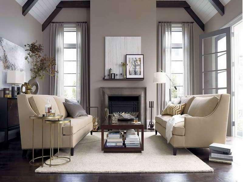 Soggiorno grigio e beige Ecco come abbinarlo 15 esempi a cui ispirarsi