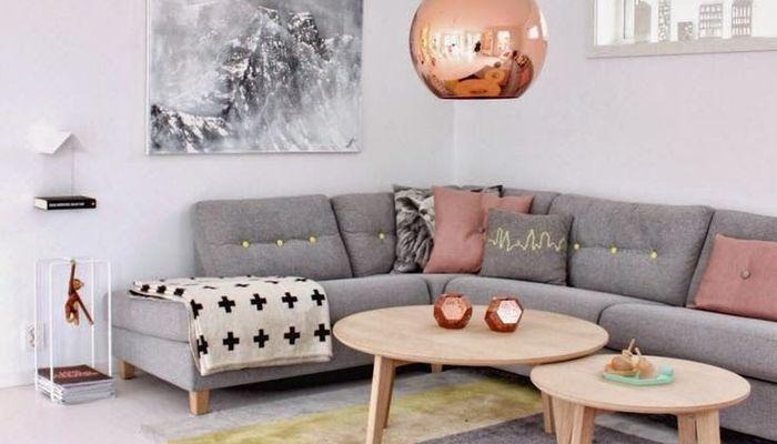 Soggiorno grigio e rosa 15 idee per abbinare con gusto