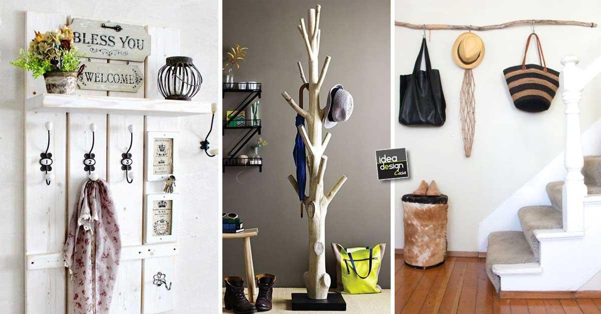 Un appendiabiti fai da te per una casa originale 20 idee per ispirarvi