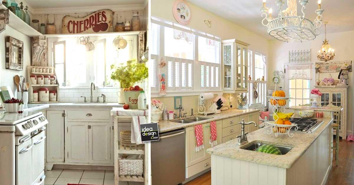 See more of potì arredamenti on facebook. Cucina Shabby Chic Ecco 15 Idee Per Arredarla Con Gusto