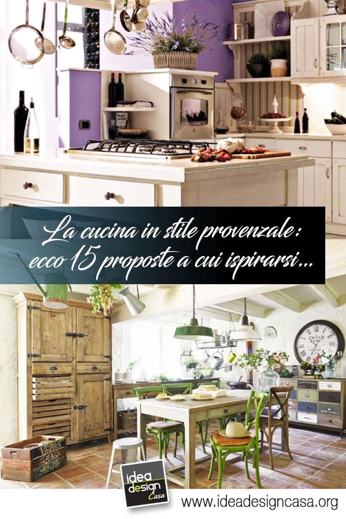 Appartamento 70mq stile shabby chic cucina media con. La Cucina In Stile Provenzale Ecco 15 Bellissime Proposte A Cui Ispirarsi