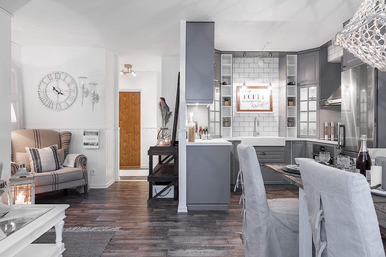 Il soggiorno con cucina a vista 15 proposte da cui trarre