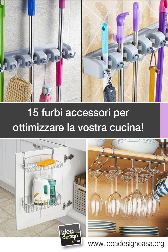 Accessori furbi per ottimizzare la cucina Eccone 15