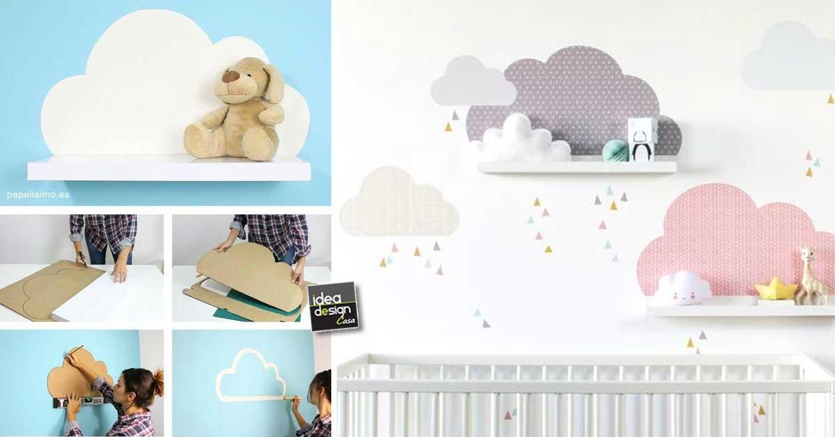 Visualizza altre idee su idee di gioco, bambini, stimolante. Nuvolette Nella Cameretta 15 Idee Per Decorare La Camera Del Bimbo