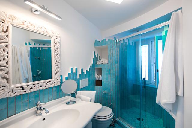 Decorare casa con bianco e azzurro ecco 15 idee per