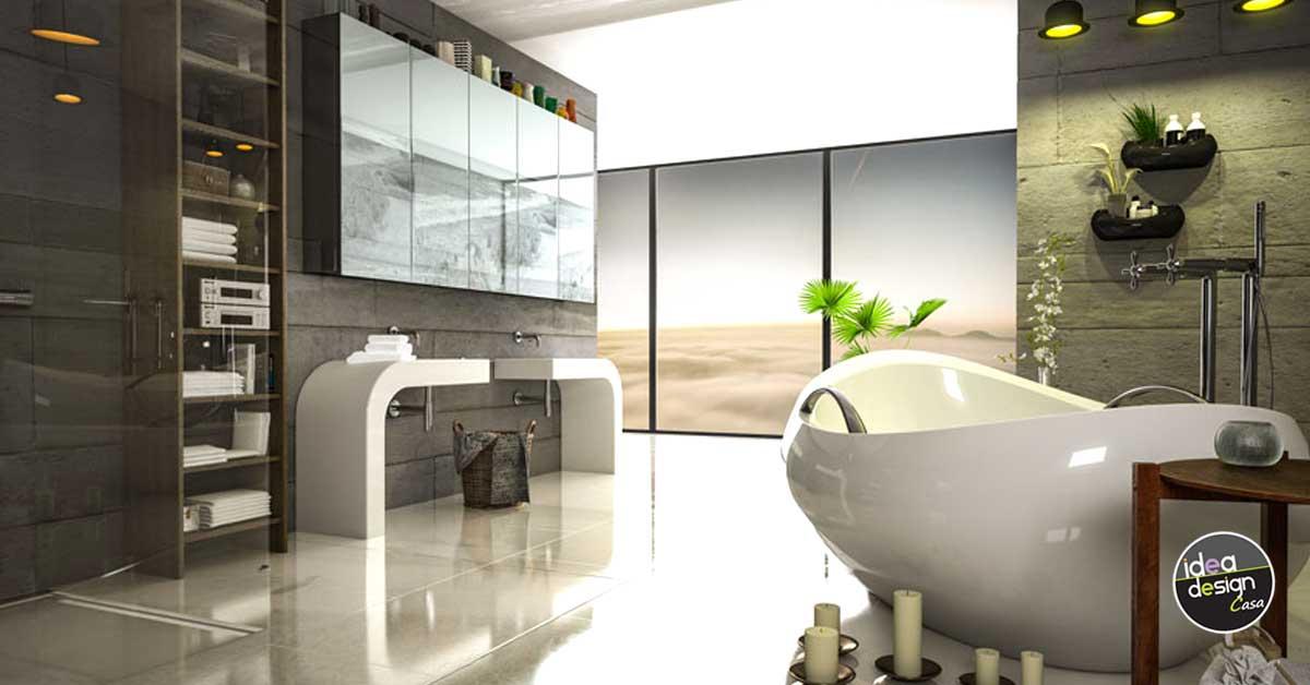 arredo bagno moderno e di design. Bagni Moderni 40 Idee Di Arredo Per Un Bagno Moderno