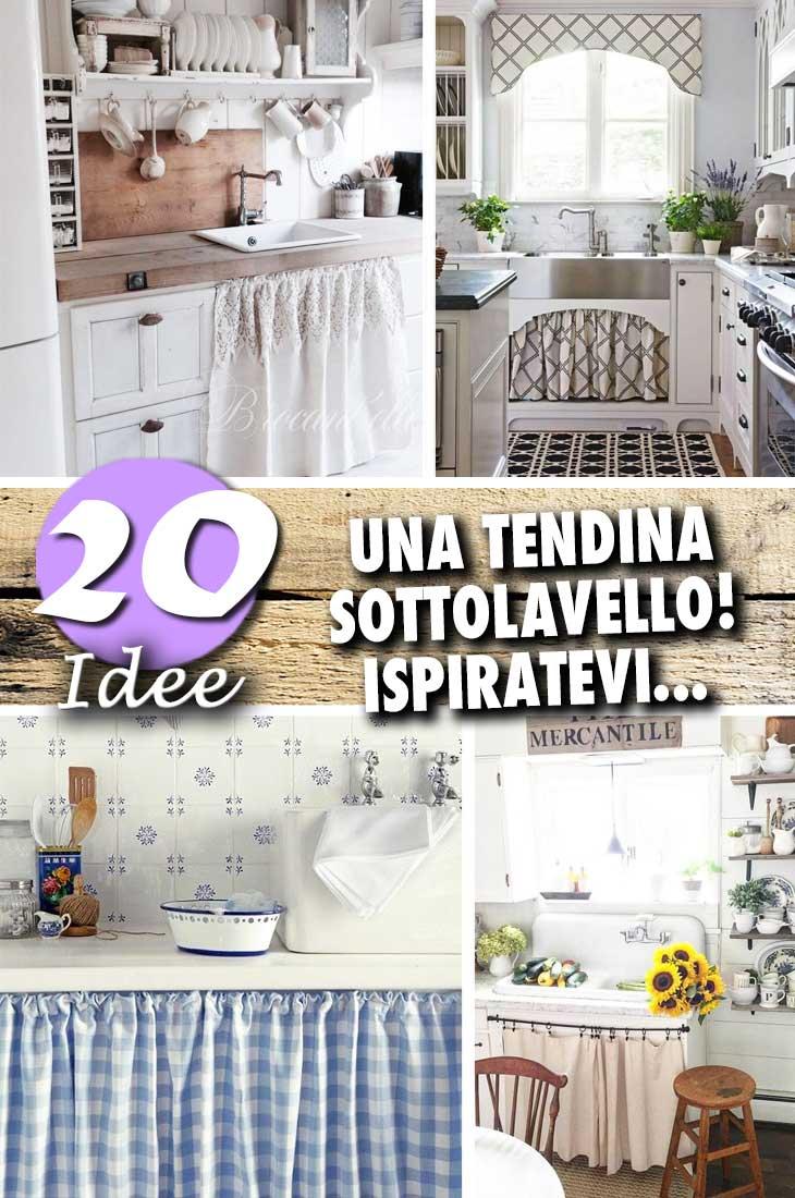 Perfette la camera da letto; Una Tendina Sottolavello Fai Da Te Il Tocco In Piu Nella Tua Cucina 20 Idee