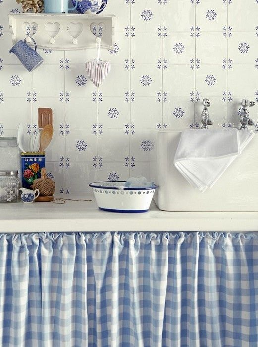 Una tendina sottolavello fai da te Il tocco in pi nella tua cucina 20 idee
