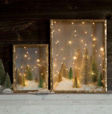 Un villaggio di Natale fai da te per portare un po di