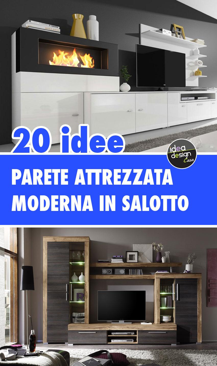 Pereti attrezzate moderne , mobili di design. Parete Attrezzata Moderna Trova Quella Giusta Per Arredare Il Soggiorno
