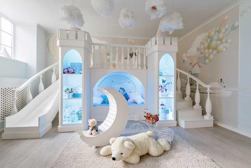 Le 10 idee per arredare camerette moderne per bimbi queste nuance, inoltre, hanno anche il vantaggio di poter essere abbinate a tante altre tonalità. 80 Camerette Per Bambini Che Faranno Sognare Anche I Piu Grandi