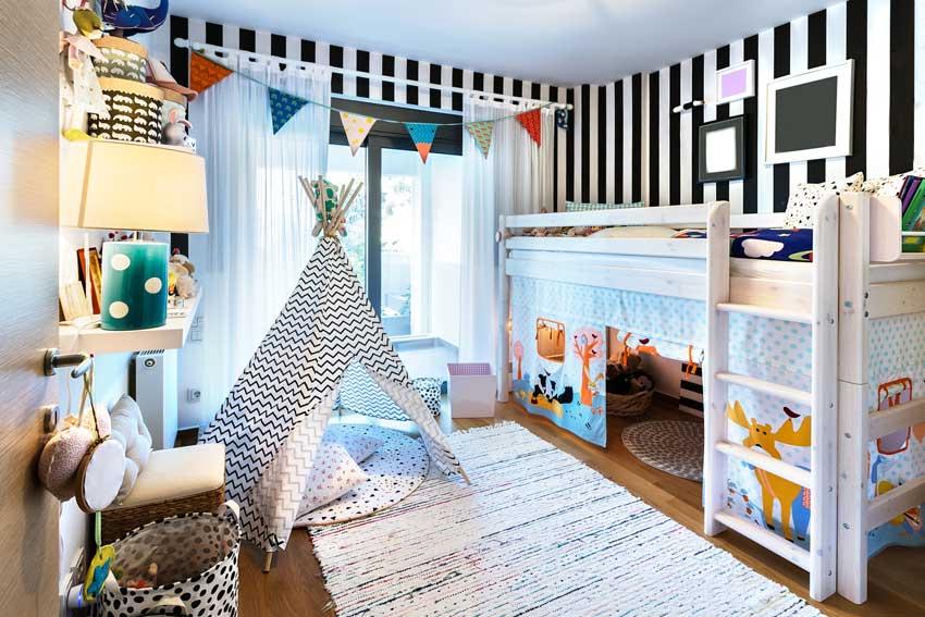 Soluzioni di camerette condivise fra fratelli, maschio e femmina. 80 Camerette Per Bambini Che Faranno Sognare Anche I Piu Grandi