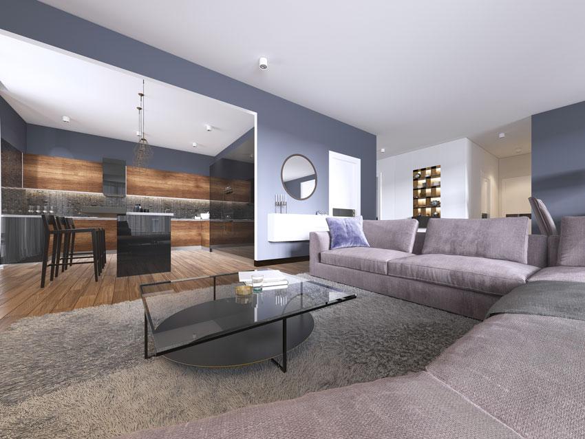 In un open space con soggiorno e cucina dallo stile moderno, puoi osare con il colore e con i contrasti, alternandoli fra i due ambienti. Open Space 40 Idee Per Arredare Cucina E Soggiorno In Un Unico Ambiente