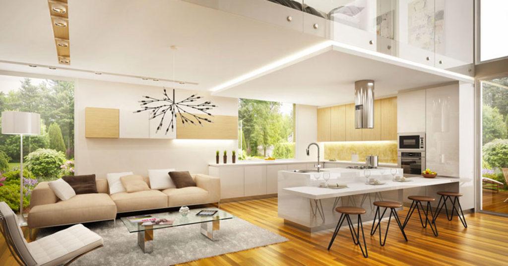 Quali sono le differenze tra i due stili d'arredo e. Open Space 40 Idee Per Arredare Cucina E Soggiorno In Un Unico Ambiente