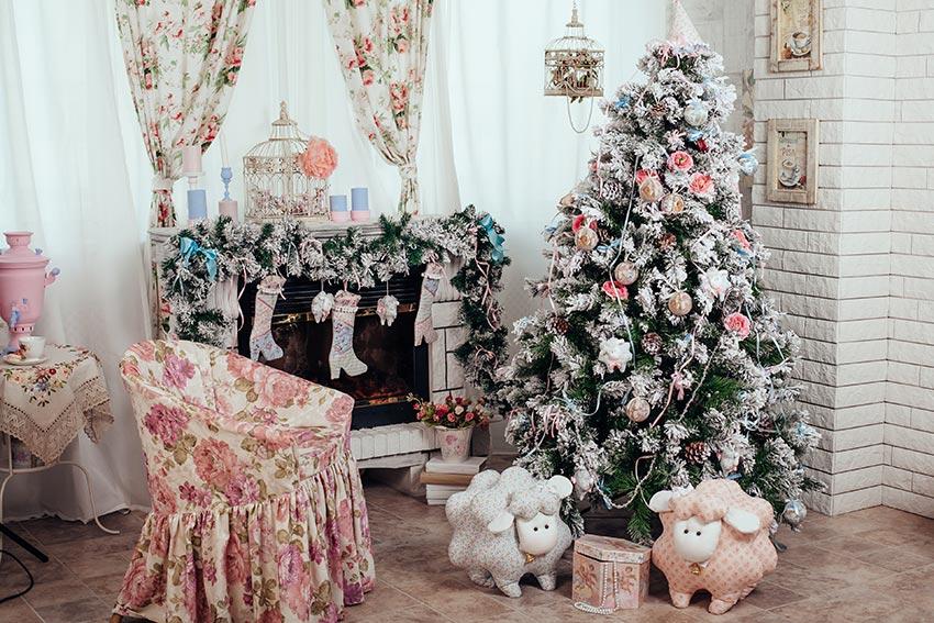 5 consigli per decorare il tuo albero shabby chic Un Albero Di Natale Shabby Chic Per Illuminare Le Feste 15 Ispirazioni