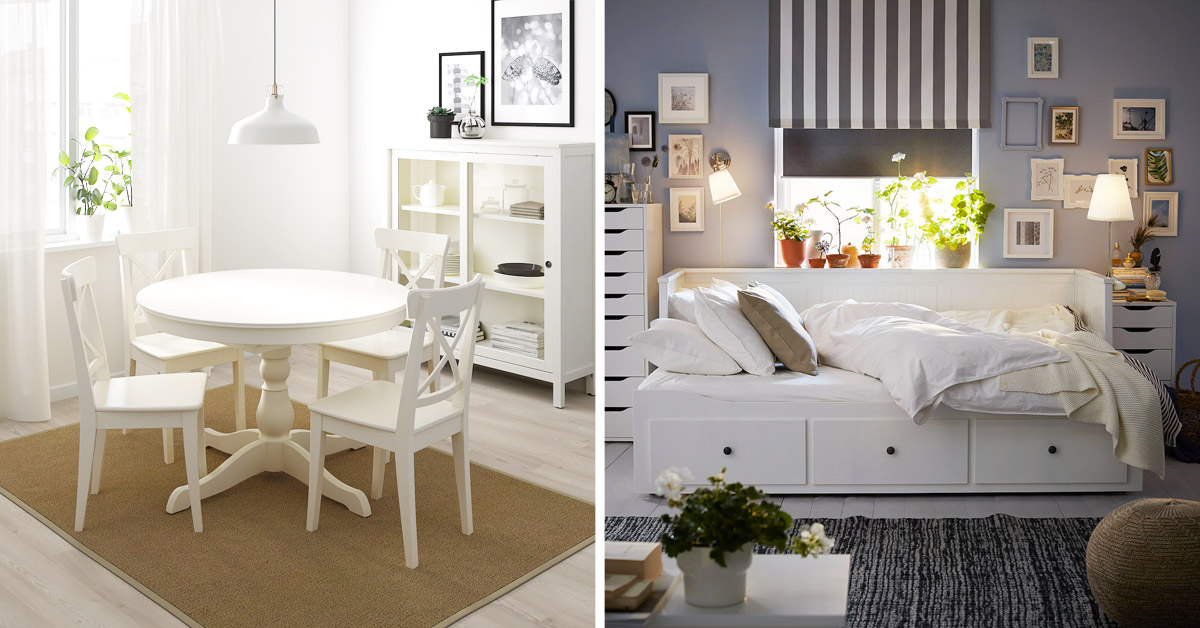 armadio barocco in legno noce intarsiato rivisitato in stile shabby chic colore bianco. Ikea Shabby Chic Quando La Casa Veste Shabby Con Ikea
