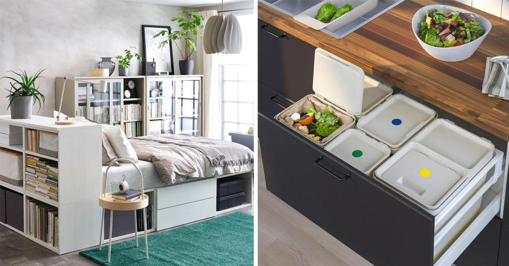 Dalle cucine alla zona living, dalle camere da letto alle camerette dei bambini passando per il bagno, ecco tutte le migliori proposte di. Ikea Salvaspazio 15 Soluzioni Per Ottimizzare Lo Spazio Con Ikea