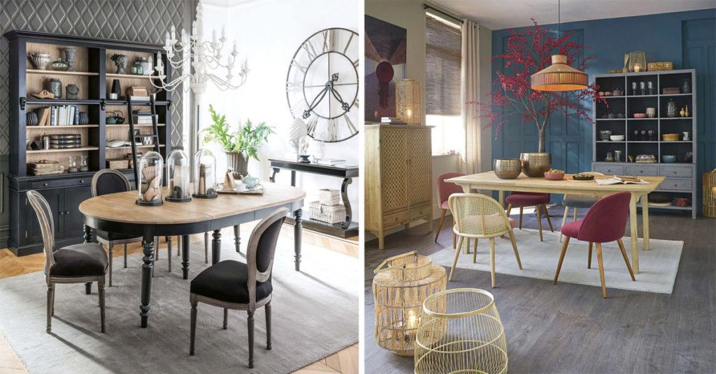 maison du monde primavera 2021 le novità da non perdere della collezione. Maisons Du Monde 2020 5 Stili Di Arredamento Per La Sala Da Pranzo