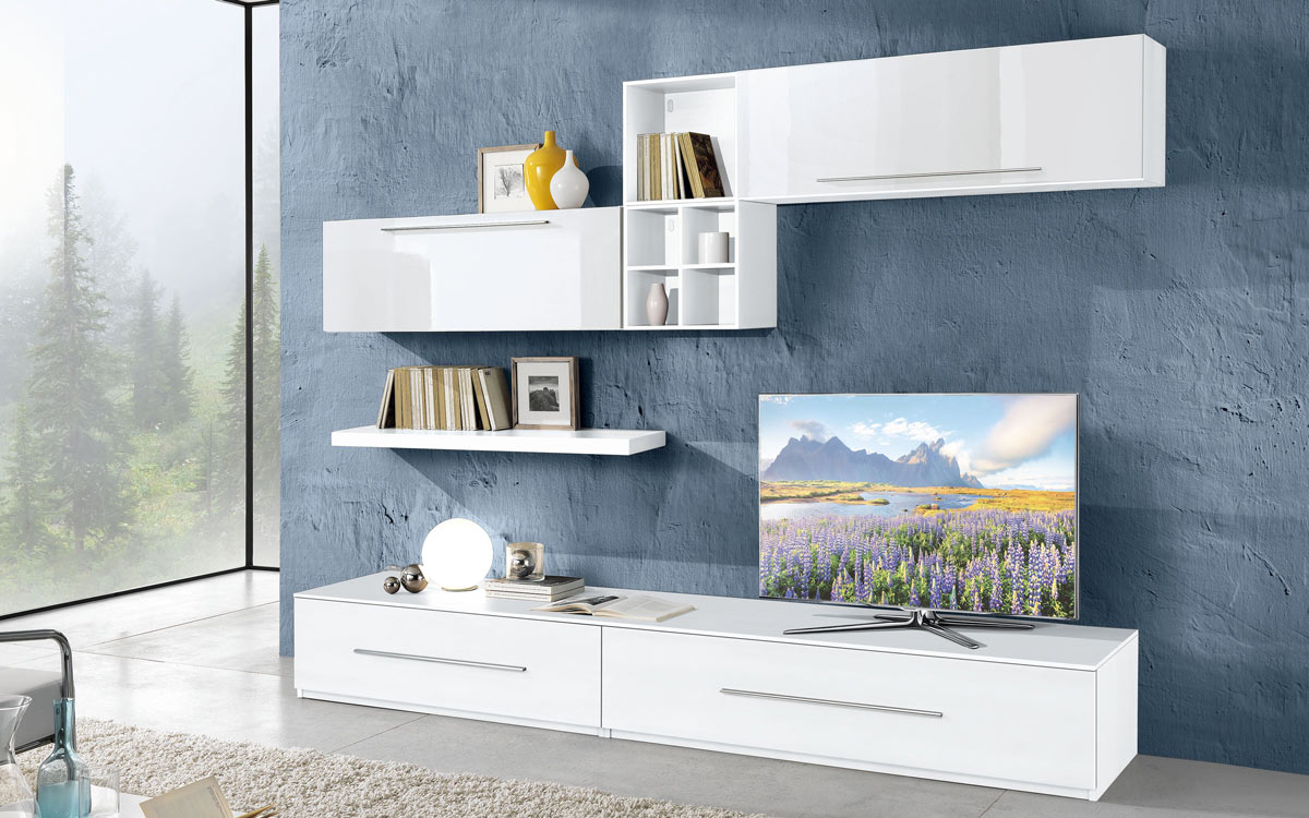 Scopri tutti i mobili per il soggiorno: Mondo Convenienza 15 Pareti Attrezzate Con Sconto Iva Per Il Soggiorno