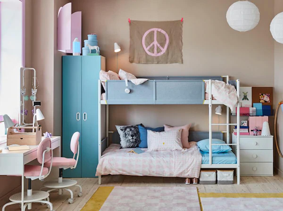 Eccovi alcune proposte molto interessanti dal catologo di camerette ikea per bambini per autarvi a scegliere l'arredamento della camera dei. Camerette Ikea 2020 15 Idee Belle E Funzionali Per La Camera Dei Bambini