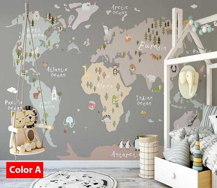 Per poter rendere l'ambiente del proprio bambino un luogo accogliente via libera alla creatività! La Cameretta Diventa Stilosa Con Gli Adesivi Murali 13 Ispirazioni