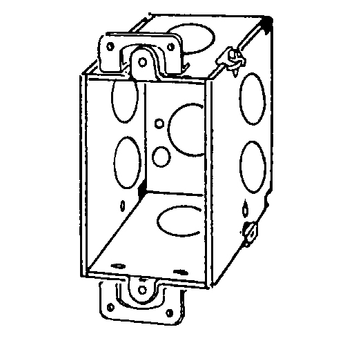 Appozgcomm 335 Corner Gangable Switch Box With Plaster