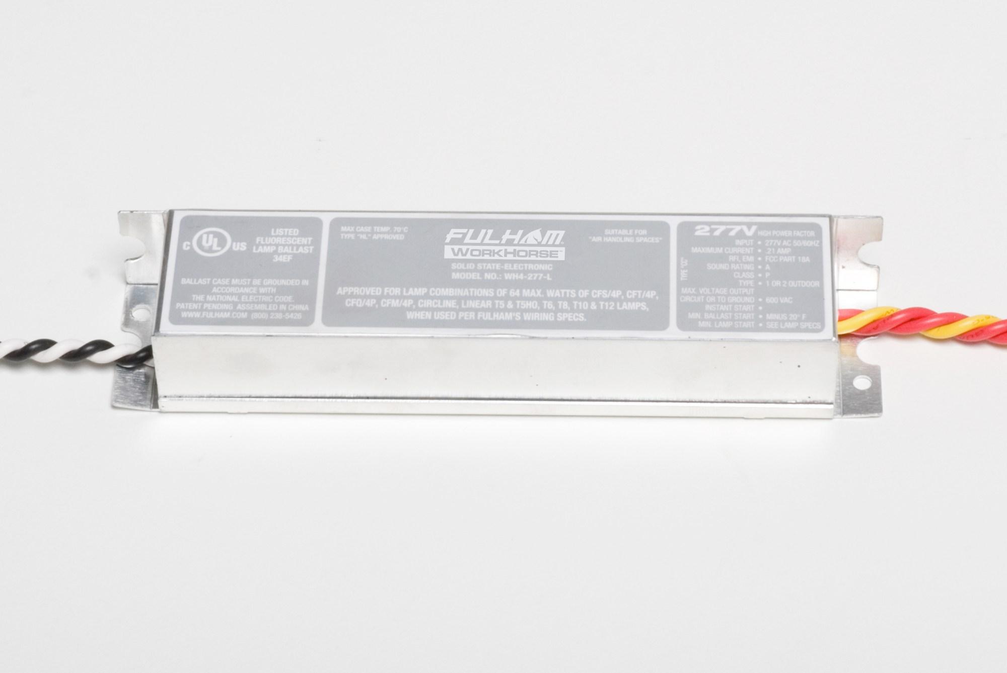 hight resolution of  t6 fulham workhorse ballast wiring diagram fluorescent light on t5 fixture wiring