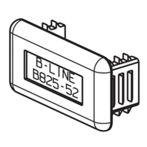 B-Line® B825-22GRY