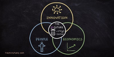 The McFuture Podcast and newsletter - steve faktor - ideafaktory - innovation, culture, economics, future, tech