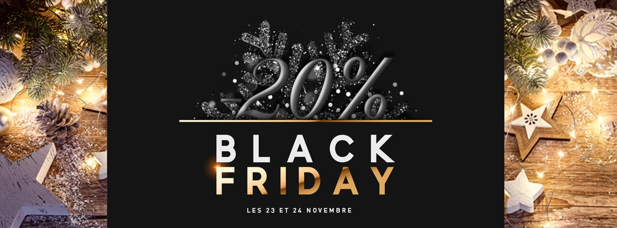 black friday 20 de remise chez ideafete