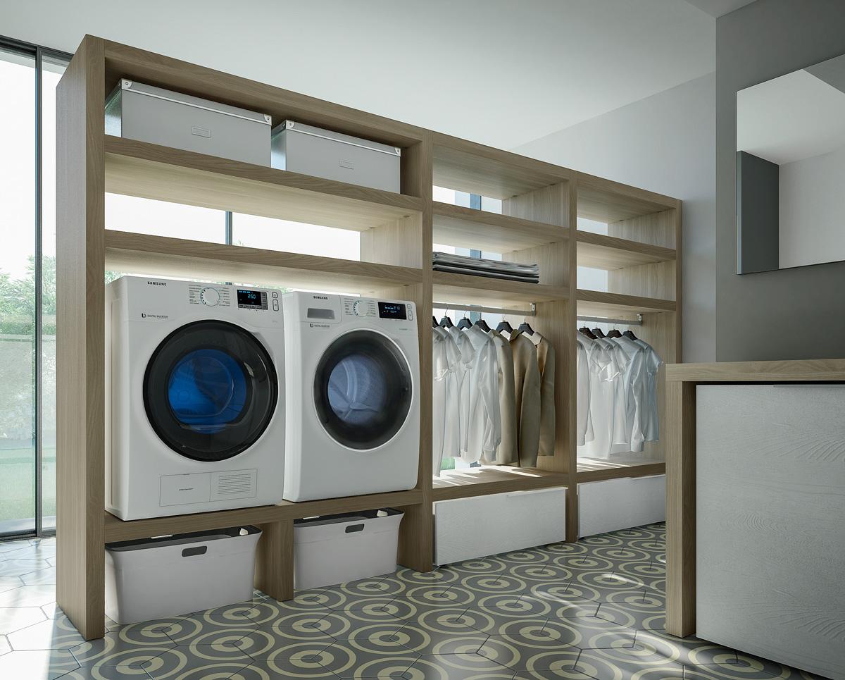 Come arredare e organizzare la lavanderia  Ideagroup Blog