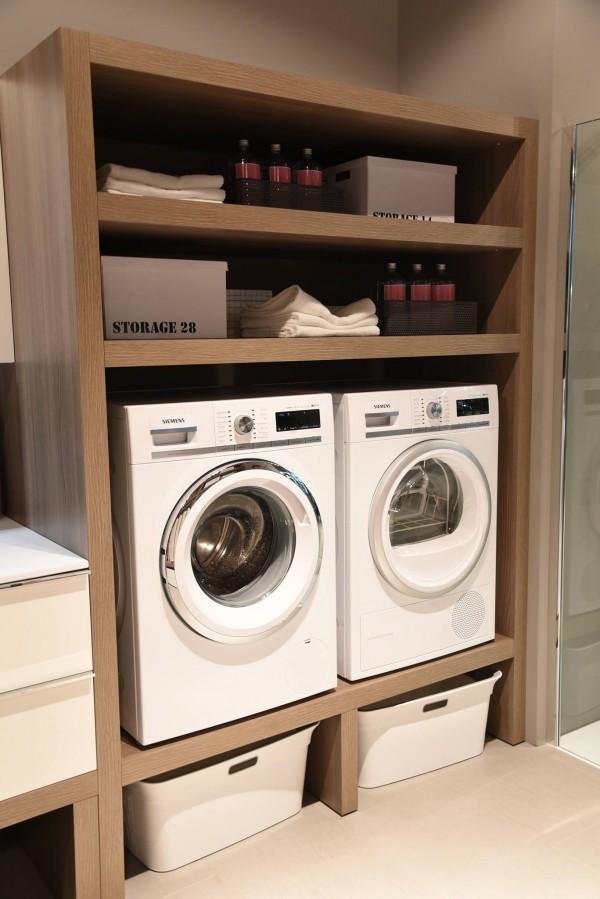 Ottimizzare gli spazi come arredare un bagno lavanderia  Ideagroup Blog