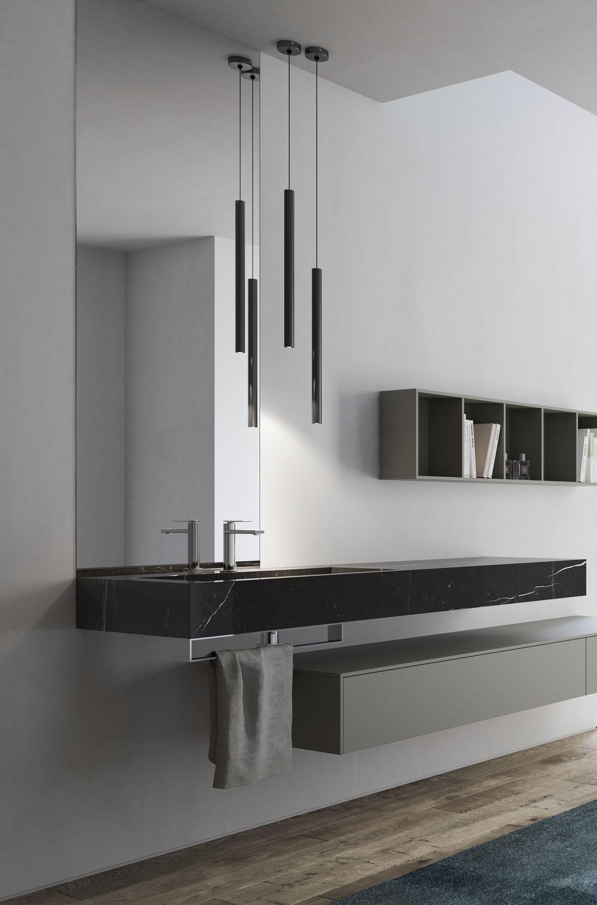 Lampadario per il bagno alcune ispirazioni di design