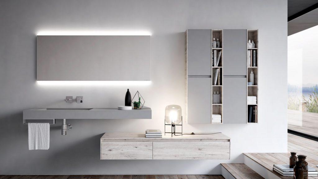 Ny mobili bagno eleganti per bagni moderni  Ideagroup