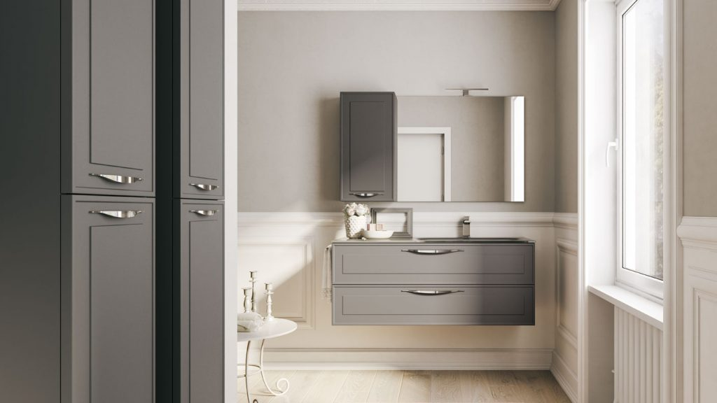 Dressy mobili eleganti per arredo bagno moderno  Ideagroup