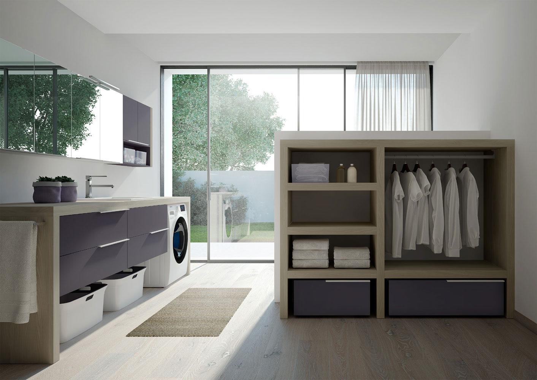 Spazio Time mobili per lavanderia soluzioni per bagno lavanderia  Ideagroup